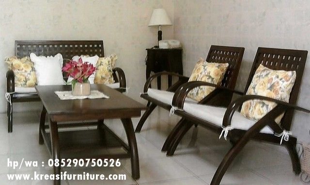 Kursi Tamu Klasik Minimalis Furniture Home Decor Interior