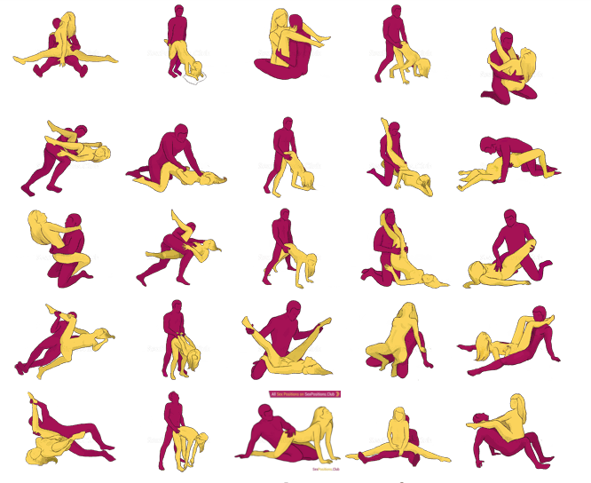 Hot, wow!!! positions avec penetration du sex