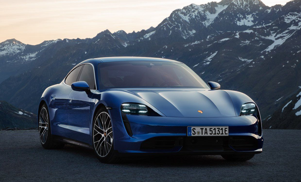 2020 Porsche Taycan With Images Porsche Taycan Electric Sports Car Electric Cars