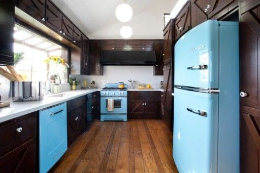 Shine Skyblue Of Kitchen Appliance Color Great Black And Blue Kitchen  Appliance Set Combination