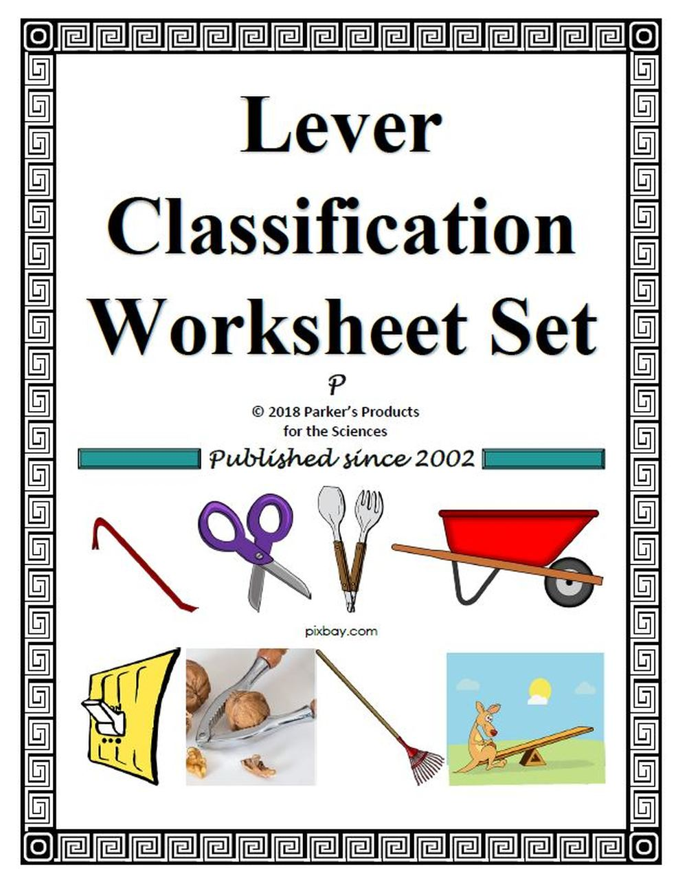 Lever Classification Worksheet Set Science Lessons Physical Science Activities Levers Activities [ 1280 x 987 Pixel ]