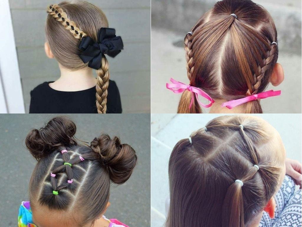 Cómo conseguir un peinados niña faciles Fotos de cortes de pelo tendencias - Ideas de peinados fáciles para niñas ¡Perfectos para el ...