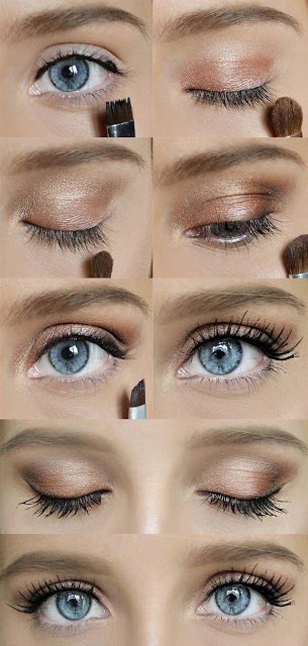 24 Cool Makeup Tutorials for Teens Quick makeup, Eye