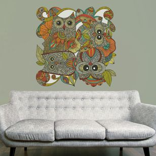 Shop Houzz Give A Hoot Owl Art Contemporary Wall Decals My Wonderful Walls