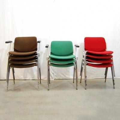 Located using retrostart.com > Dinner Chair by Giancarlo Piretti for Castelli