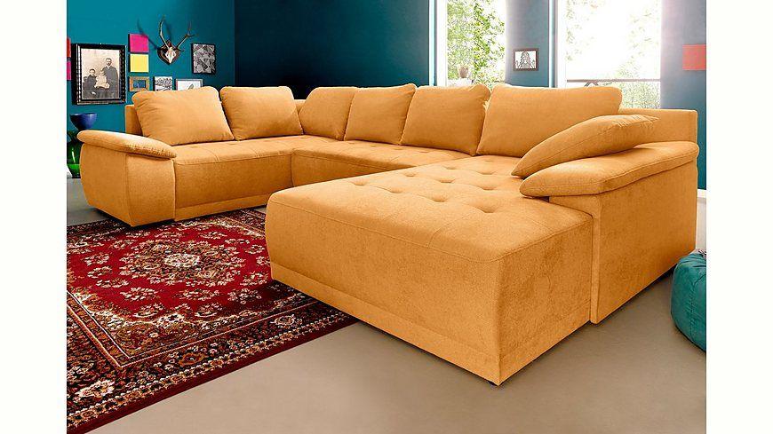 Sit  More Wohnlandschaft, wahlweise XL oder XXL Jetzt bestellen - wohnzimmer orange beige