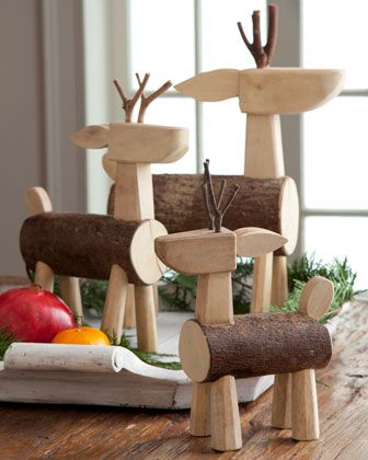 rentier holz u stamm naturmaterial diy bastelideen. Black Bedroom Furniture Sets. Home Design Ideas