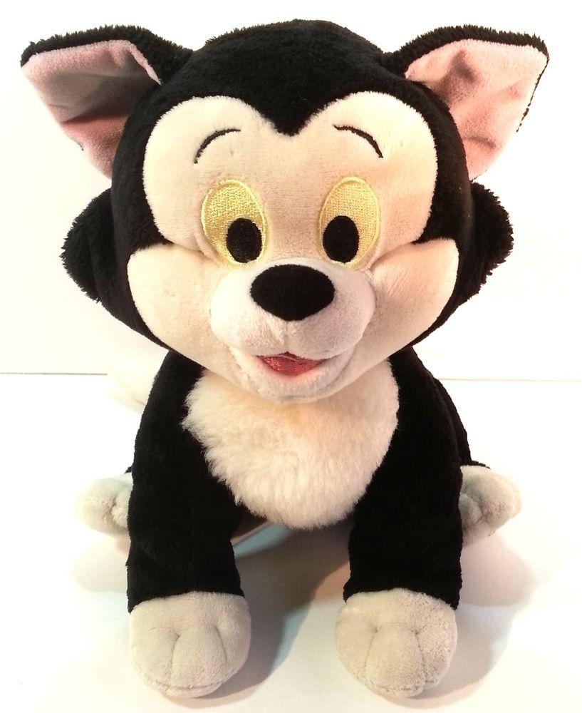 0336a32a5 #DisneyStore Exclusive #Pinocchio #Cat #Figaro #Plush Black White 14