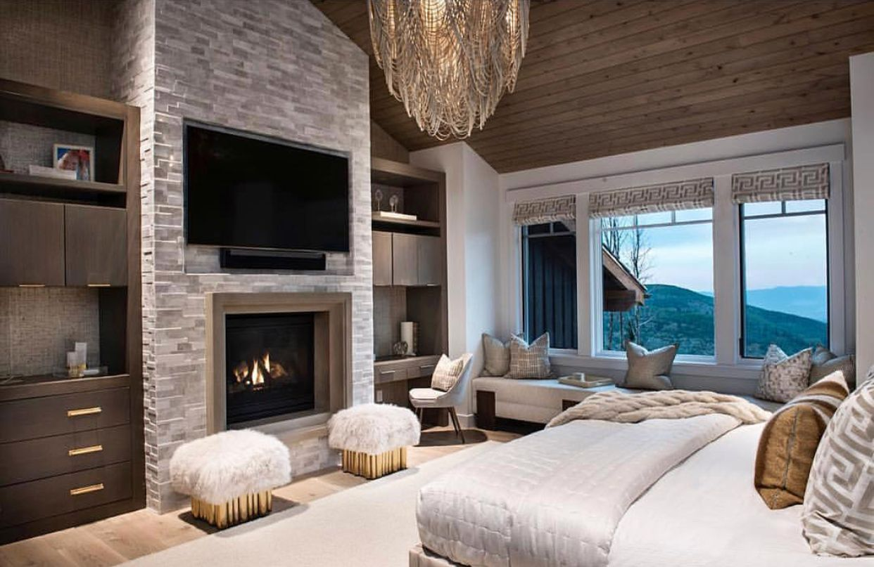 Pin By Marnie Fuchs Martin On House Beautiful Luxury Bedroom Master Dream Master Bedroom Home