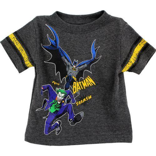 "DC Comics Batman ""Pow...Smash"" Grey Infant T-Shirt (18M) DC Comics http://www.amazon.com/dp/B00EQ84YPE/ref=cm_sw_r_pi_dp_EnaRub057ZRZR"