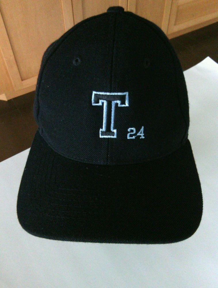 895f8ba0601 T 24 Unisex Black Baseball Cap Adjustable Hat Curved Visor Sport Games Fit  Golf