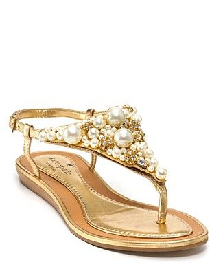 c044cf06252a7e Kate Spade New York Sandals...Imani Flat Embellished..Bloomingdale s ...