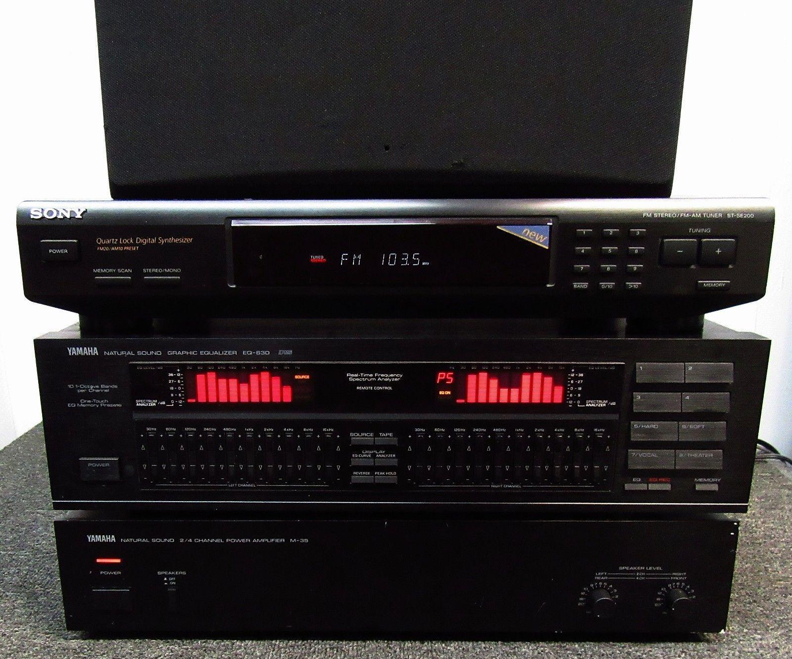 Yamaha EQ-630 Natural Sound Graphic Equalizer | Audio