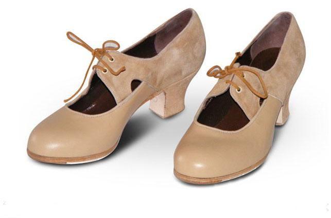 Zapatos Gallardo. Yerbabuena A. Z016 | Zapatos de flamenco