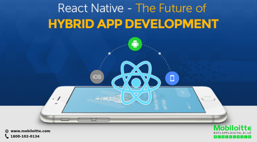 Create native apps for Android & iOS using reactnative