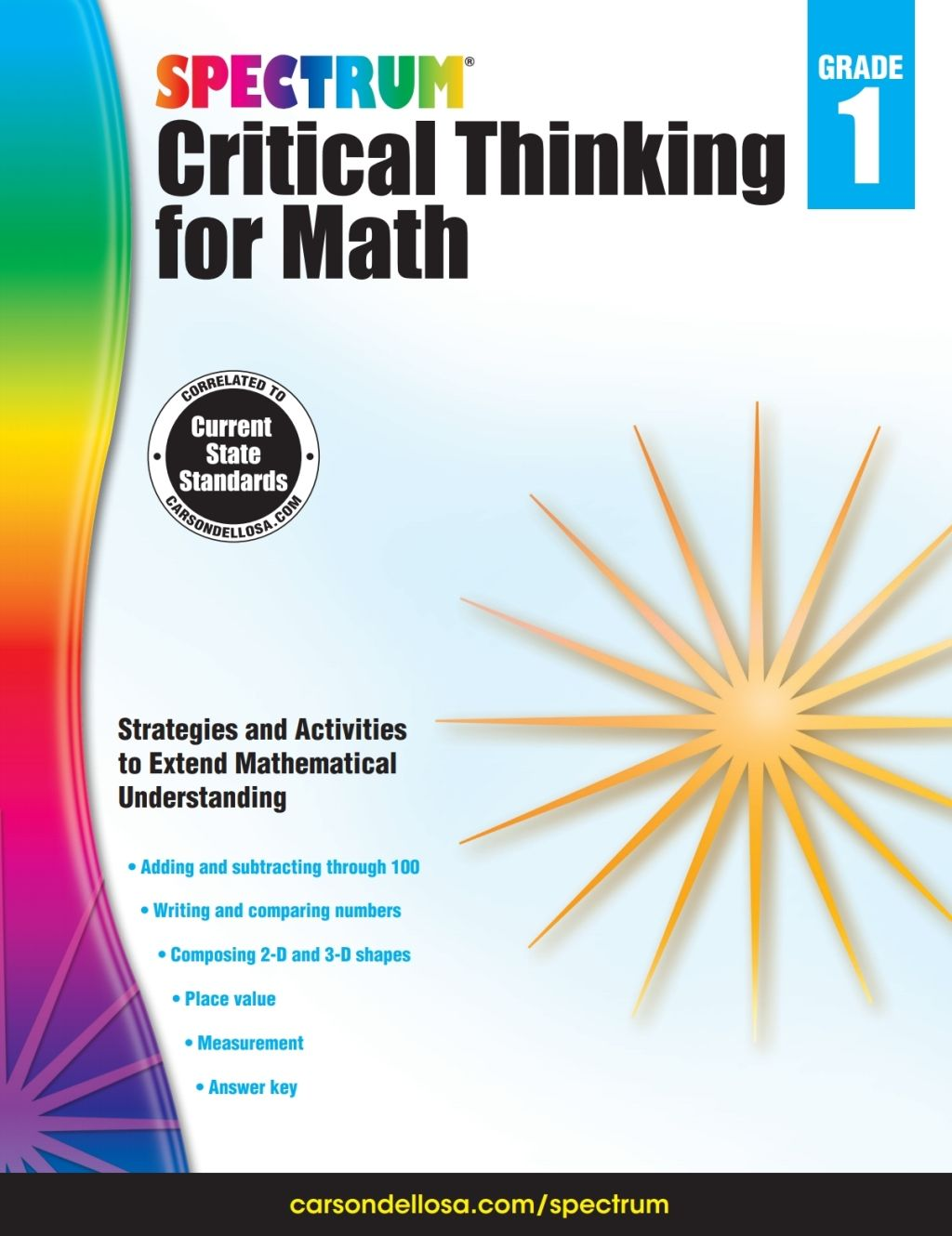Spectrum Critical Thinking For Math Grade 1 Ebook In