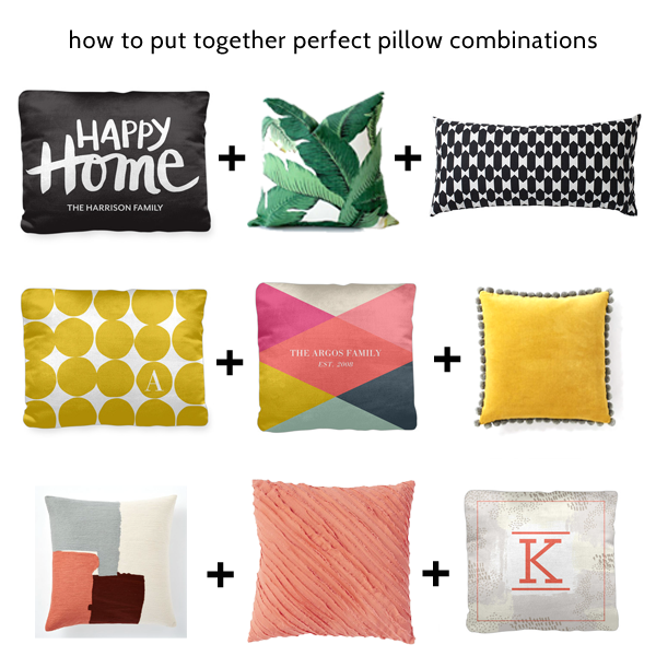 how to put together perfect pillow combinations styling 101