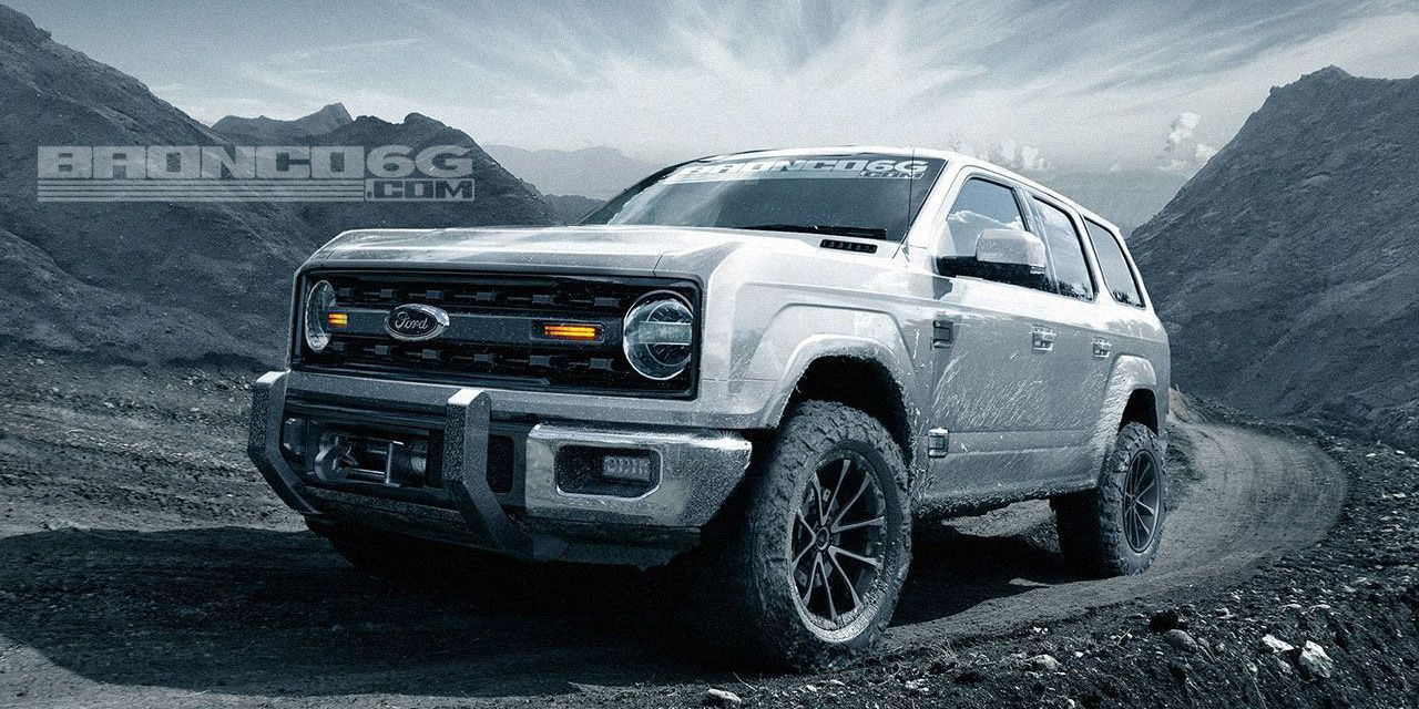 This 2020 Ford Bronco Four Door Designed By A Fan Forum Is Totally