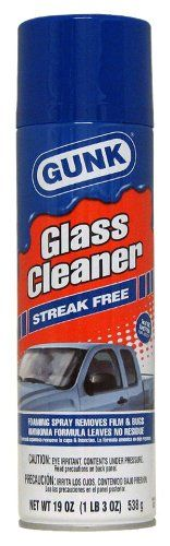 Gunk Gc112pk Streak Free Glass Cleaner 19 Oz Case Of 12 You