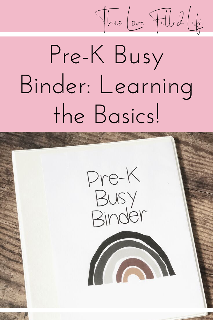 Doing Preschool At Home A Pre K Busy Binder This Love Filled Life