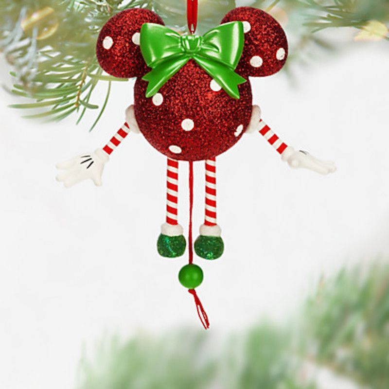 Disney parks minnie mouse dancing christmas ornament new with tags ...