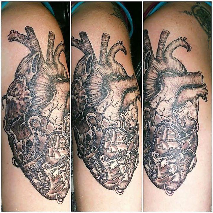 Tattoo by Jaynie from Chrome Halo Tattoo & Body Piercing