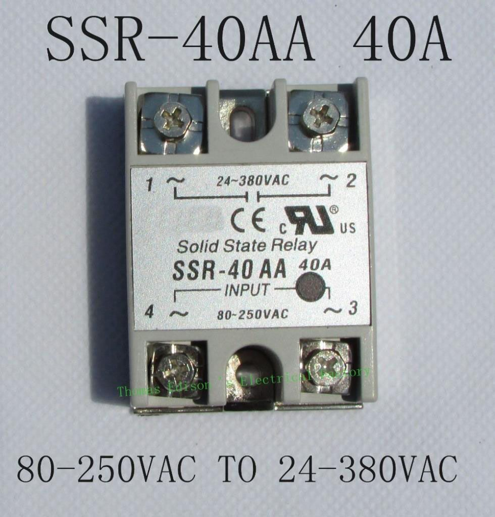 Top Brand Dmwd Solid State Relay Ssr 40aa 40a Actually 80 250v Ac To 230vac