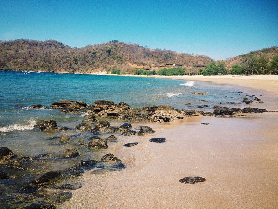 Beautiful Rustic Beach Shot From Dreams Las Mareas Costa Rica