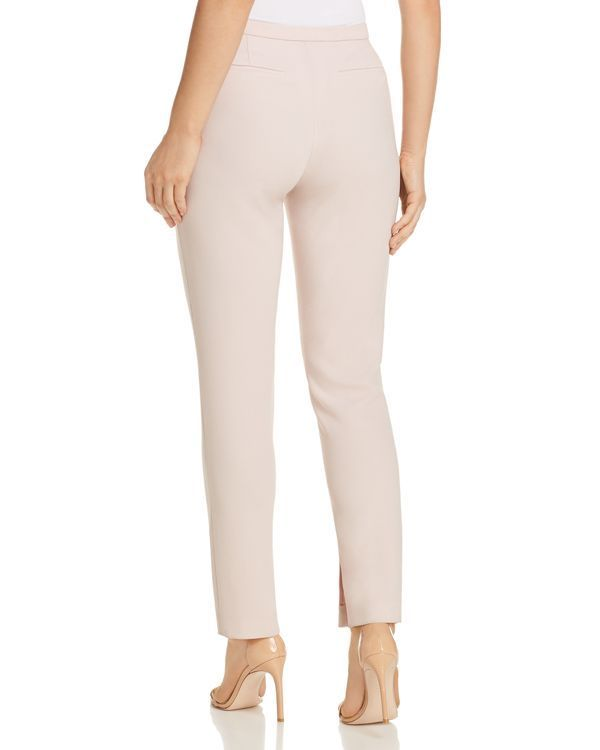 0b5f4cf6ce3ef Grosgrain ribbon-trimmed inseams add a hint of girly glam to these  office-essential pants from Elie Tahari