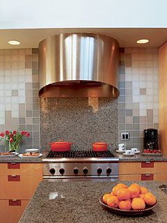 Decorative Tiles For Backsplash This Range Hood Not Only Serve Its Purpose Of Exhausting Smoke But
