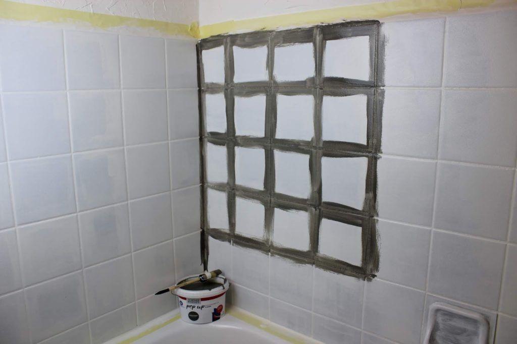 Diy Badezimmer Streichen Und Renovieren Mit Fliesenfarbe Renovieren Badezimmer Komplett Badezimmer Streichen