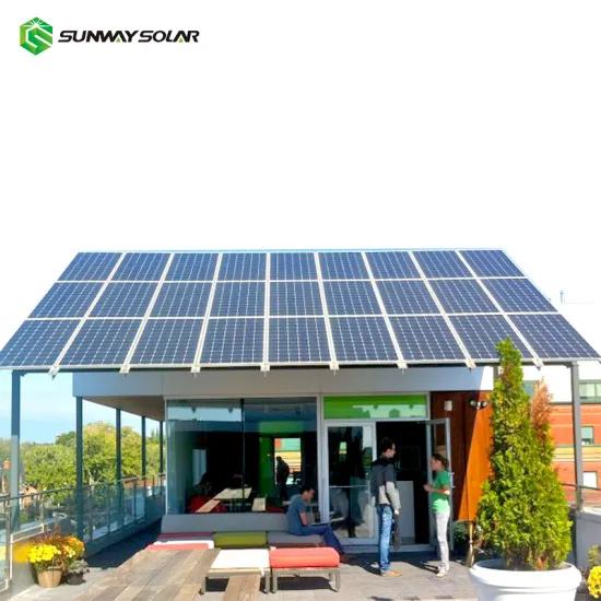 5kw 7kw Sistema De Panel Solar Residencial Fuera De La Red 8kw 10kw En Sistemas De Energia Solar De Red In 2020 Solar Panels Off Grid Solar Panels Off Grid Solar