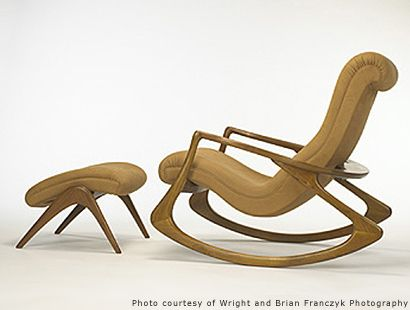 Vladimir Kagan Rocking Chair Best Ergonomic Office Chairs And Ottoman Seating Pinterest