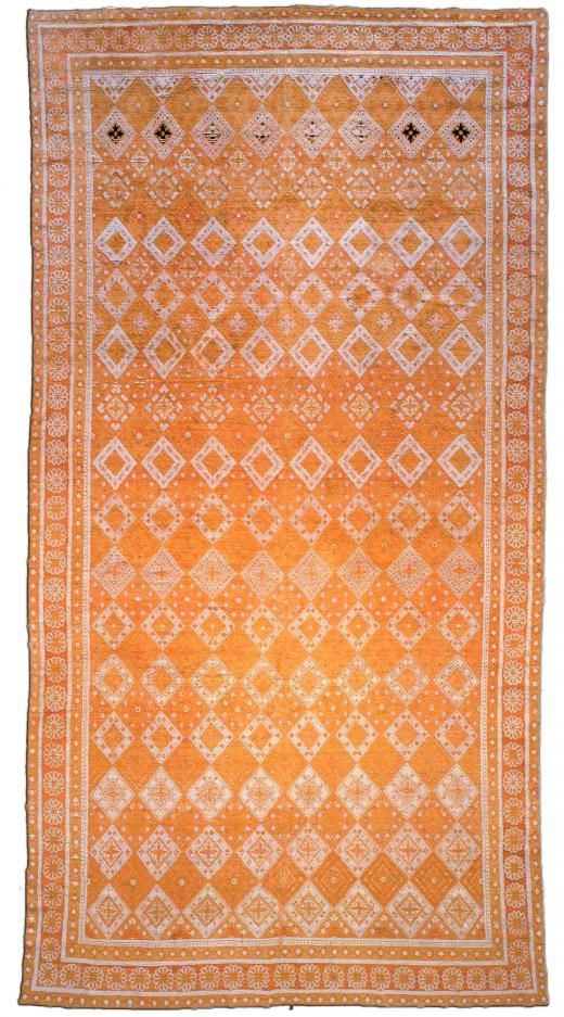 Antique Indian Hand Knotted Cotton Agra Rug Bb7120 By Dlb Antique Indian Rug Rugs On Carpet Agra Rug