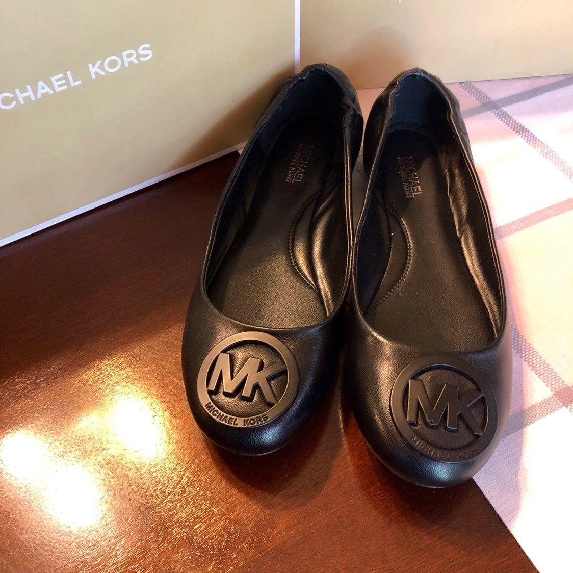mk flat shoes