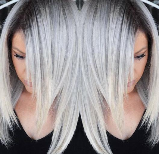 Silver hair... On trend now!!! - RNR Hair & Beauty