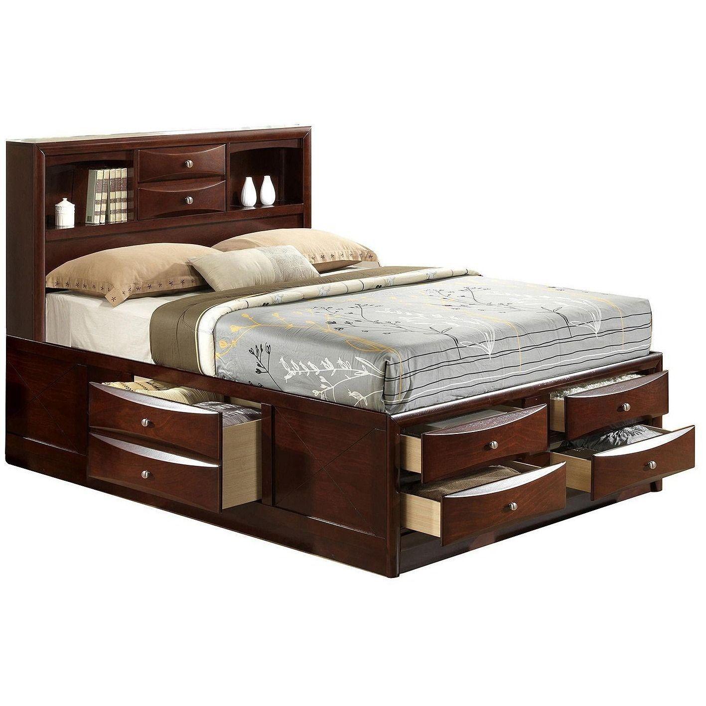 Ridgemont Platform bed Storage bed, Usa furniture, King