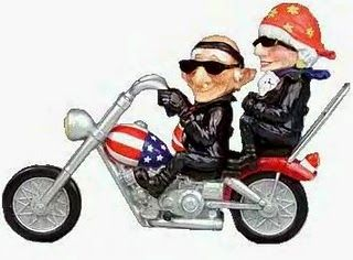 Cartoons About Older People Old People On Motorcycle With