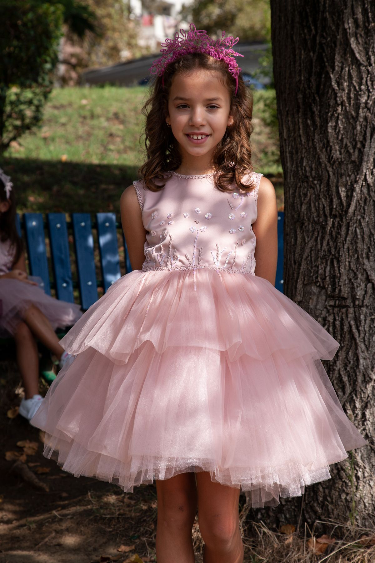 1e98ab51f girl  blush  rose  dress  party  birthday  kids