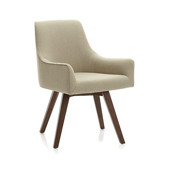 Swivel Harris Herringbone Chair In New Furniture Crate