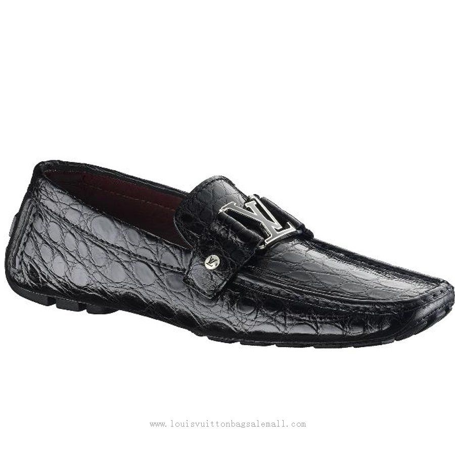 Louis Vuitton Louis Vuitton Monte Carlo Moccasin In Crocodile Leather  ,♥…♥…♥ Comment For Ideas~!