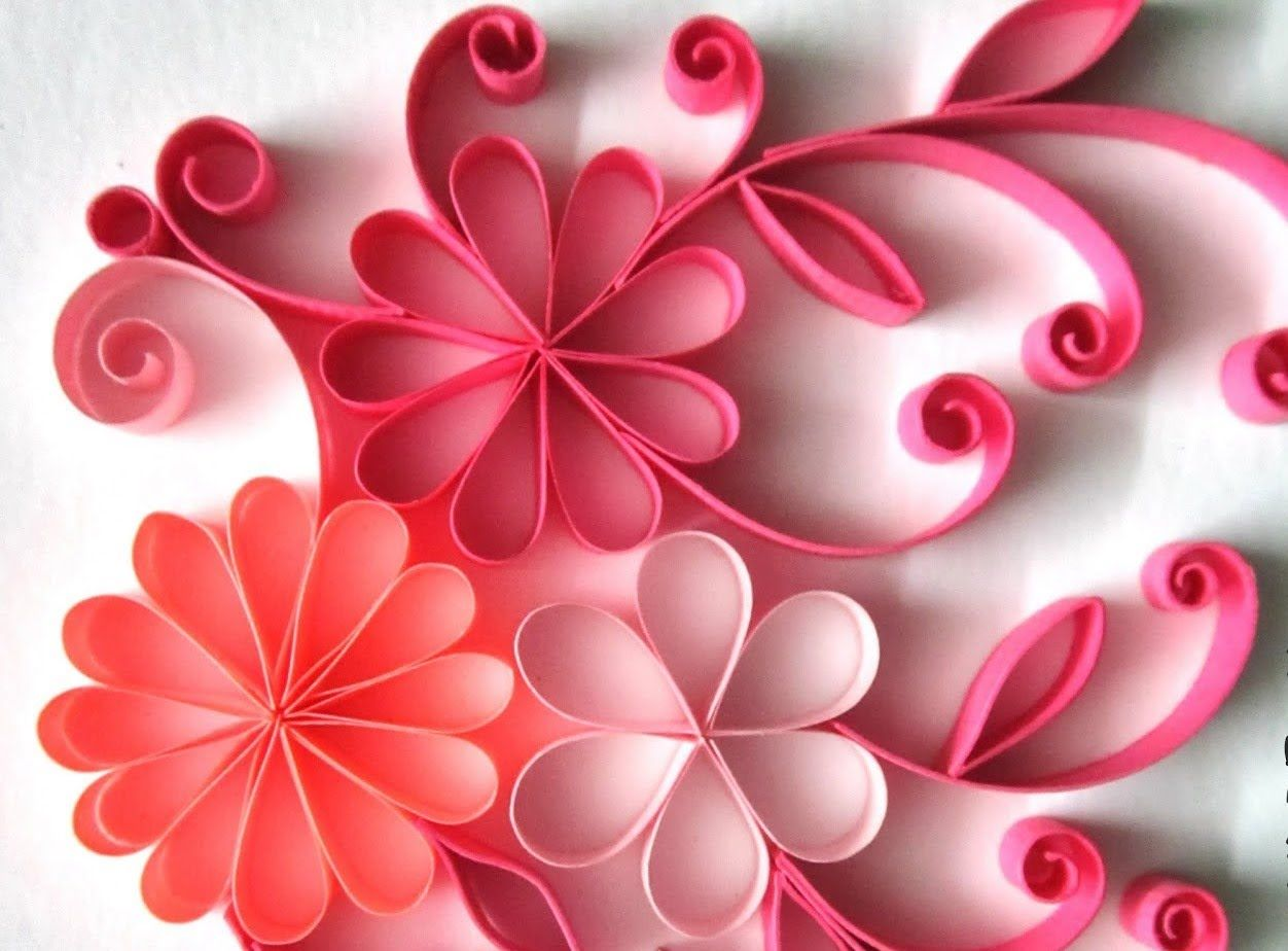 Quilling made easy how to make beautiful quilling paper for How to make a paper design