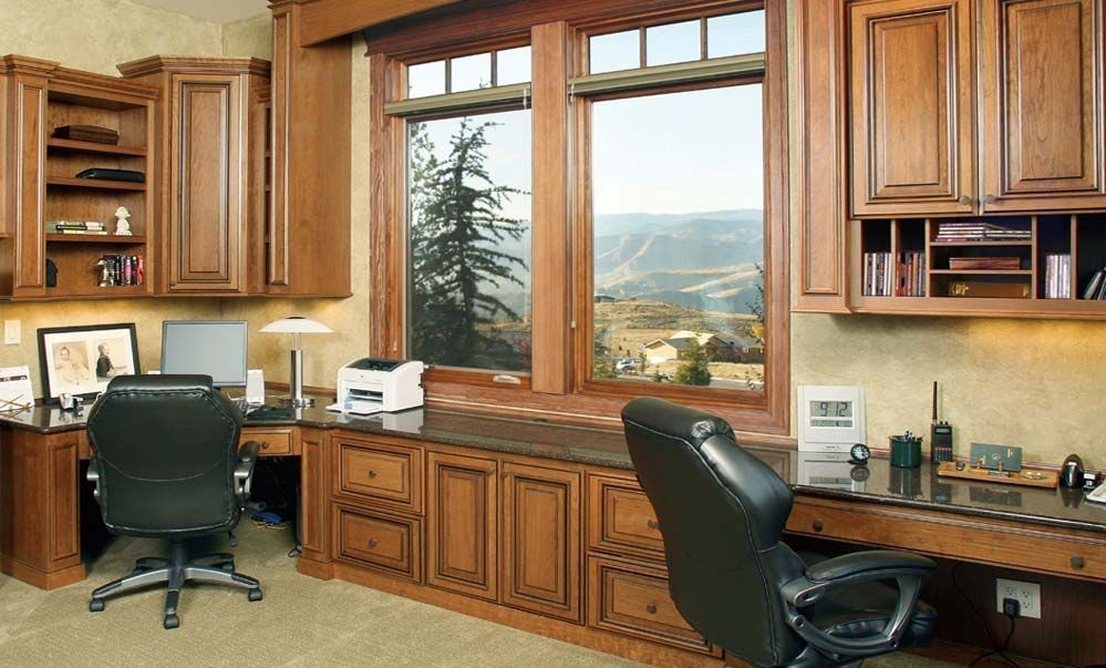 Built In Home Office Designs For Well Built In Home Office Designs Of Good  Great