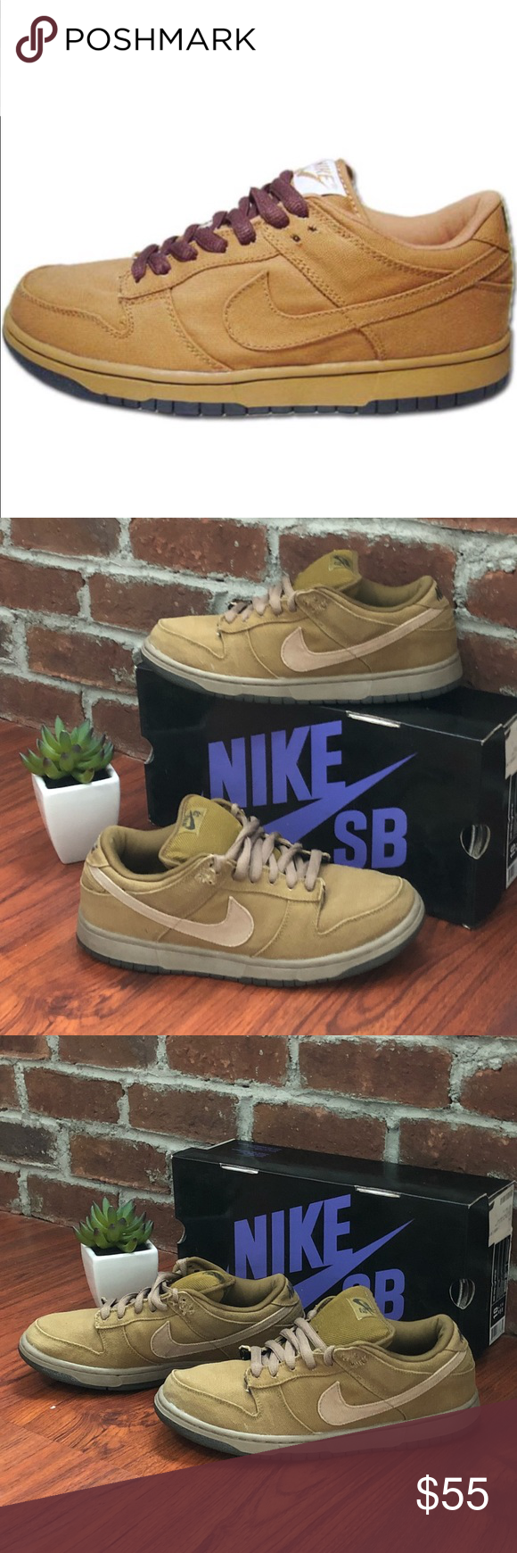 brand new 33bbe 93529 Nike Dunk Low Pro SB - Carhartt Edition These Carhartt ...