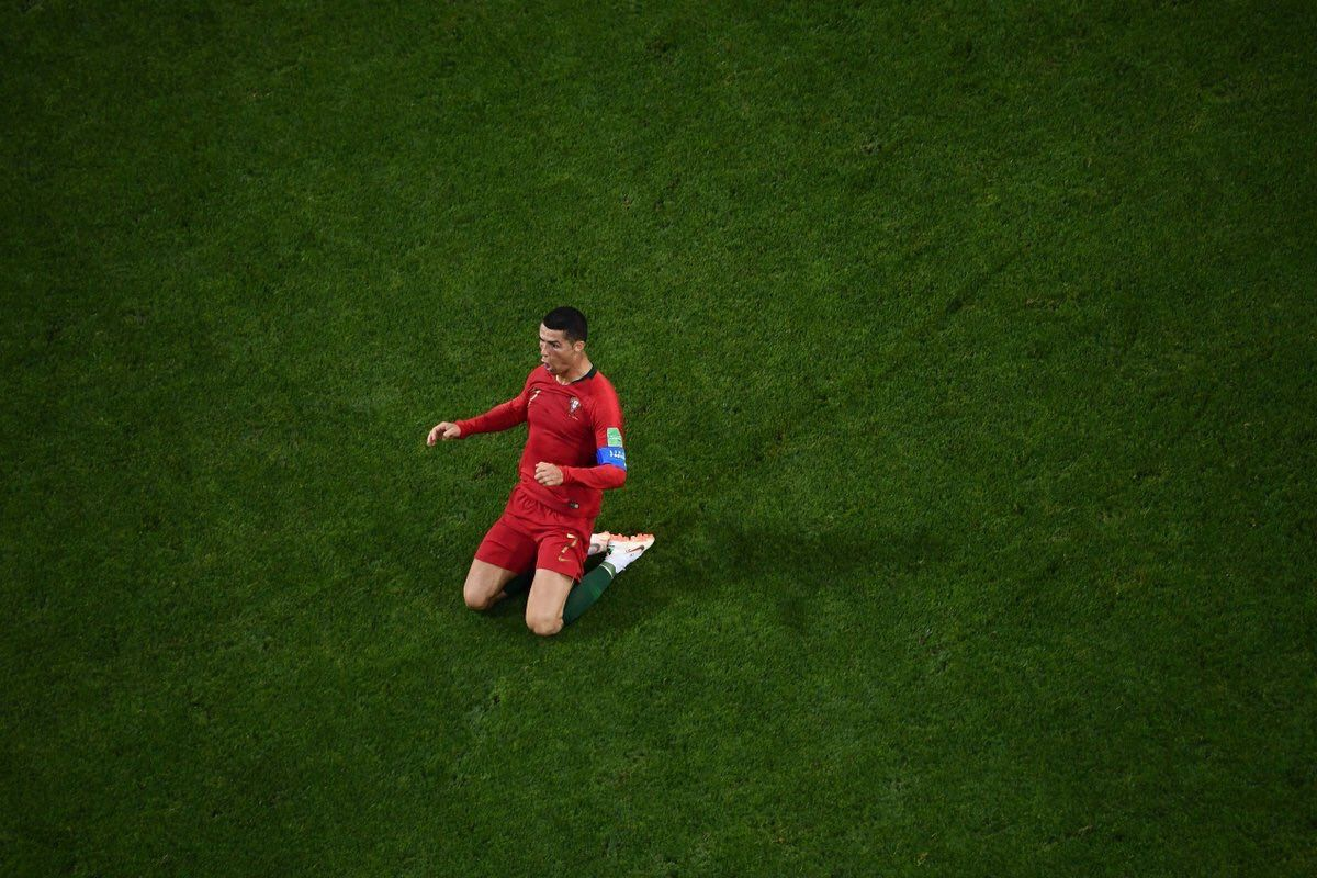 Cristiano Is The First Player In History To Score A Hatrick Vs Spain In Either The World Cup Or The Euros Only Three Players Eusebio History Cristiano Ronaldo