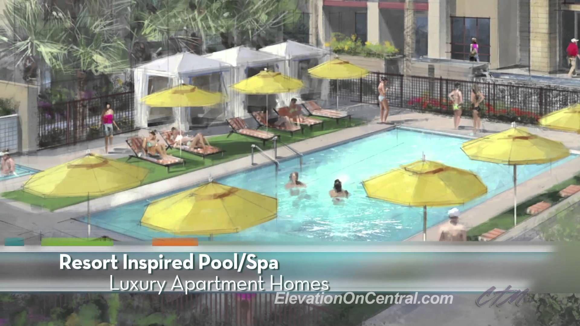 Elevation On Central Luxury Phoenix Az Apartments Greystar Spa Pool Luxury Spa Luxury Apartments