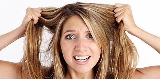 Couleur pour cheveux gras