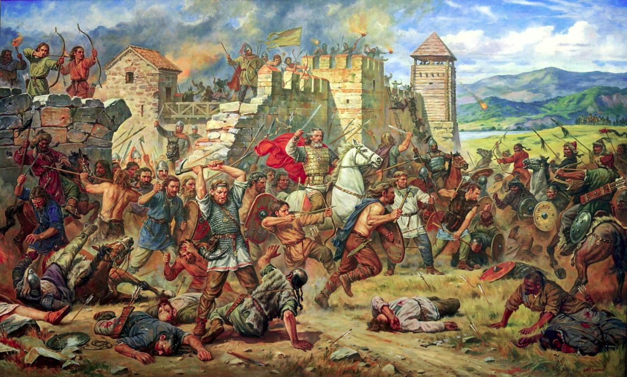 Attila the Huns Siege of Constantinople | Tarih, Alaca