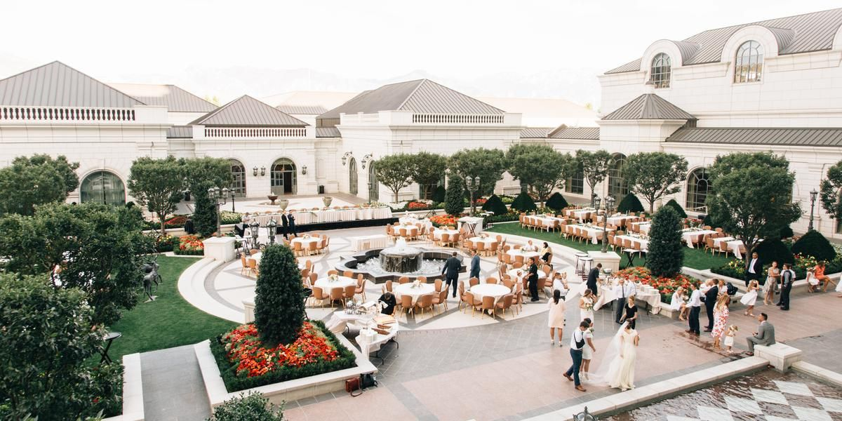 The Grand America Hotel Weddings Price Out And Compare Wedding
