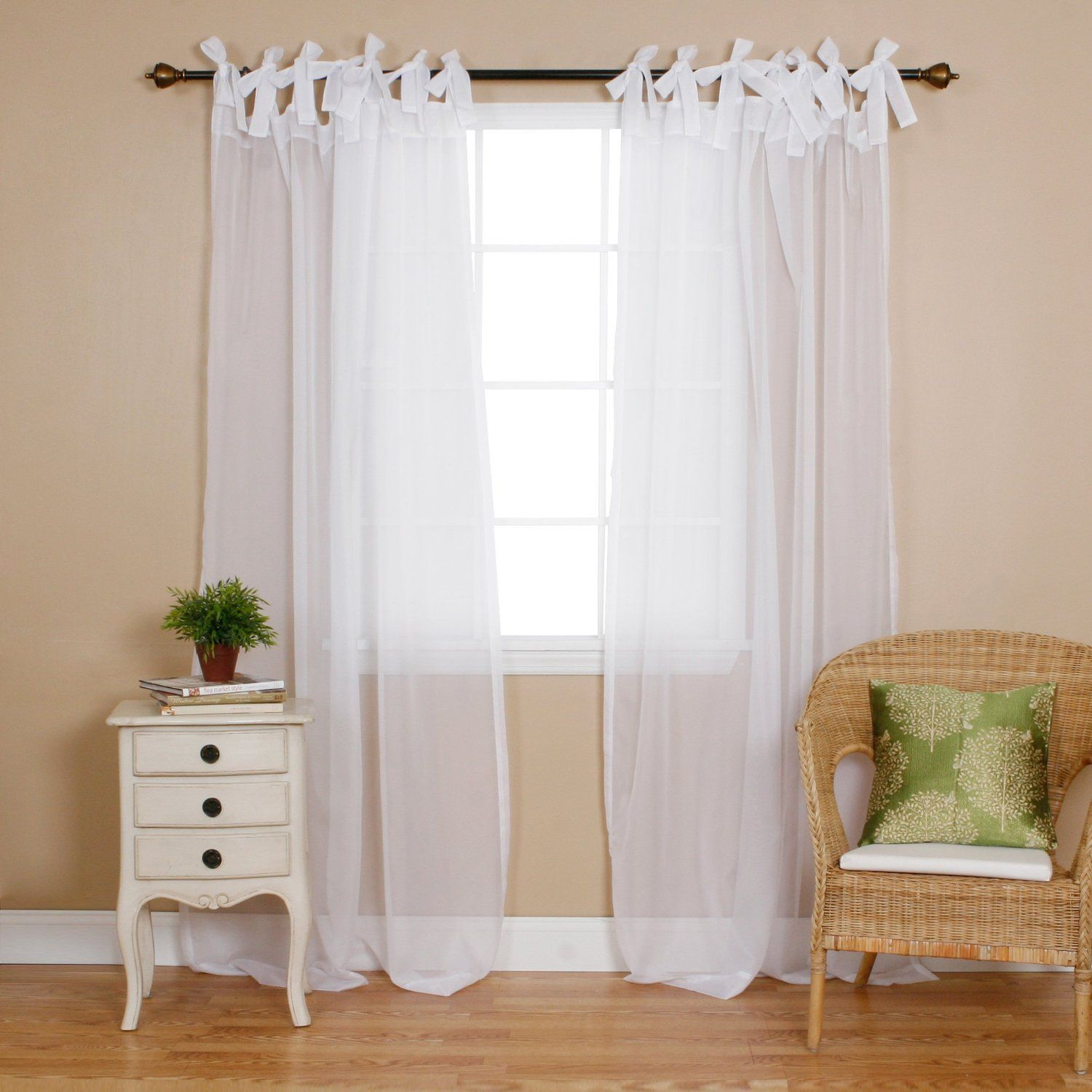 curtain and semi grommet white of size for decor popular homes picture better panel panels design tips curtains outdoor gardens alluring full sheer